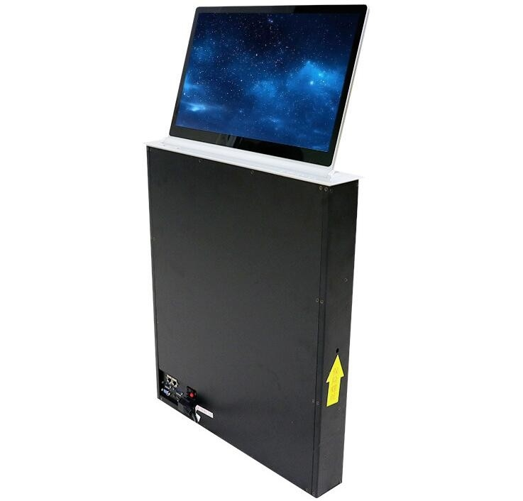 Ultra - Thin Conference System Computer LCD Monitor Lift Screen Angle 30°