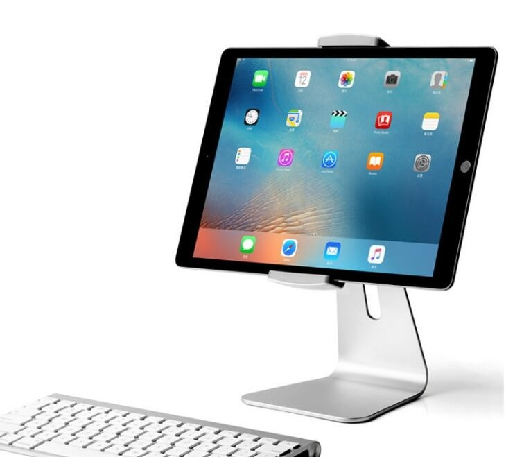 7 - 13 Inch Universal IPad Pro Rotating Table Stand Aluminum Alloy Material